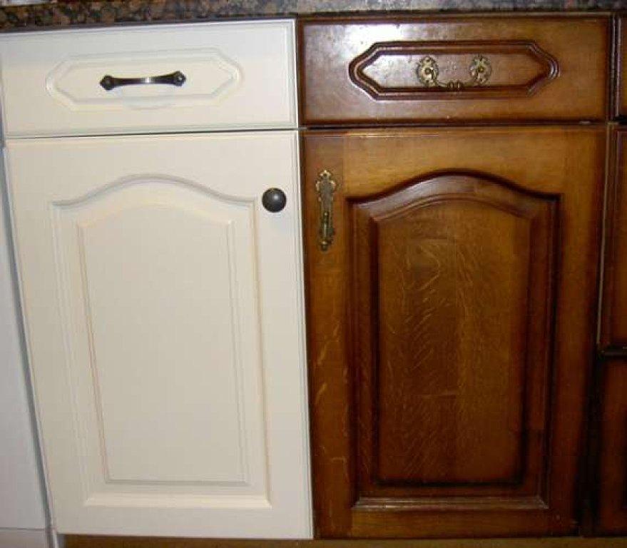 Imagenes de muebles para cocina de madera tallada - Lacar puertas en blanco precio ...